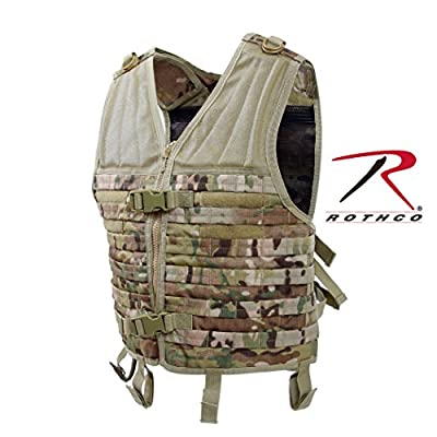 Rothco Molle Modular Vest, Multicam