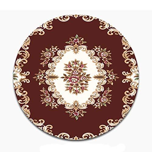 Amazon.com: Round carpet, Bedroom Bedside Blanket Balcony ...