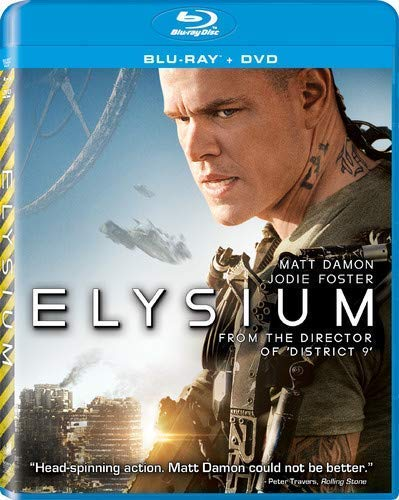 (Elysium (UltraViolet Digital Copy) [Blu-ray] )