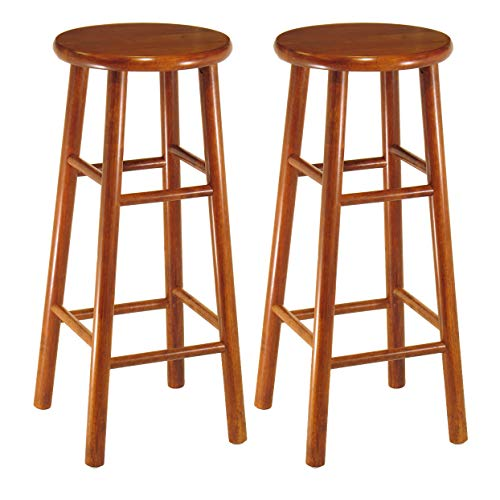 (Winsome Wood 75280 Tabby Stool, 30-Inch, Cherry)