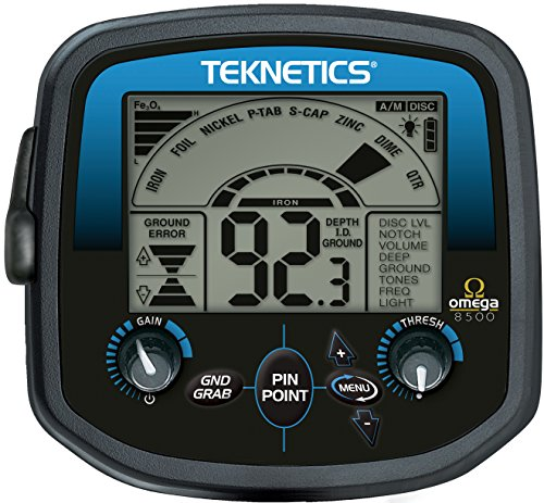 Teknetics Omega 8500 Metal Detector