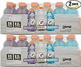 Image of Gatorade Variety Pack! Glacier Freeze, Glacier Cherry, Riptide Rush, 12oz Bottles (Pack of 2, Total of 36 Bottles)