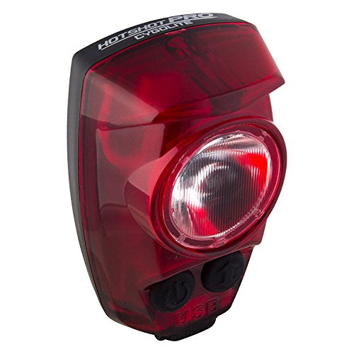 Price comparison product image Cygolite Hotshot Pro 150 USB Rechargeable Bike Tail Light