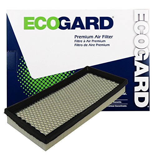 ECOGARD XA4378 Premium Engine Air Filter Fits Ford F-150, F-250, Bronco, F-350, E-150 Econoline, E-350 Econoline Club Wagon, E-250 Econoline, E-350 Econoline, E-150 Econoline Club Wagon, F Super Duty