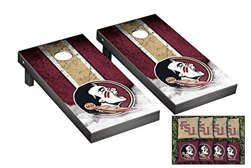 Victory Tailgate Florida State FSU Seminoles Desktop Mini Cornhole Game Set ()