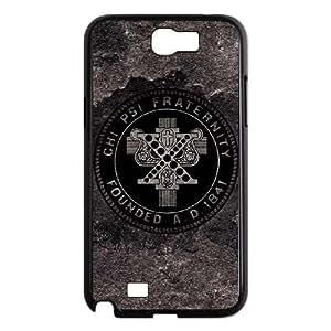 Chi Psi Grey Distressed Samsung Galaxy N2 7100 Cell Phone Case Black DIY present pjz003_6342246
