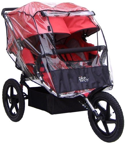 Tike Tech Double All Terrain X3 Sport All Season Stroller Cover by Tike Tech (Image #1)