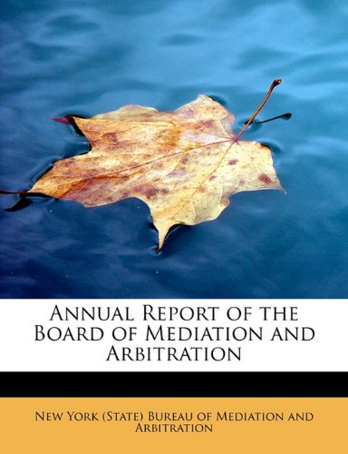 Download Annual Report of the Board of Mediation and Arbitration pdf