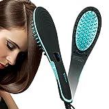 Apalus Hair Straightening Brush, Fast Natural Straight Hair Styling, Anion Hair Care, Anti Scald, Massage Straightening Irons, Detangling Hair Brush
