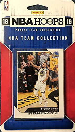(2018 2019 Hoops NBA All Stars Collection Special Edition Factory Sealed Basketball Set with Lebron James of The Lakers and Stephen Curry and Kevin Durant of The Warriors Plus 7 Other Superstars)