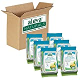 Aleva Naturals Bamboo Baby Tooth 'n' Gum Wipes, ' Gum Wipes, 30 Count (Pack of 6)