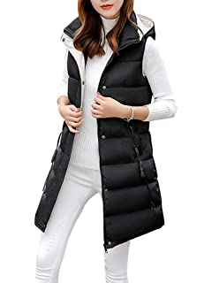 1cd5eee37 Sobrisah Women's Zipper Cotton Padded Stand Collar Thickened Outwear ...
