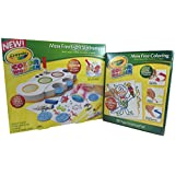 Crayola Wonder Color 2 Piece Bundle - Crayola Color Wonder Light Up Stamper, Crayola Color Wonder Drawing Paper-30 Sheets