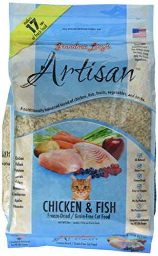 Artisan Grain-Free Cat Food (Chicken & Fish) -3Lb