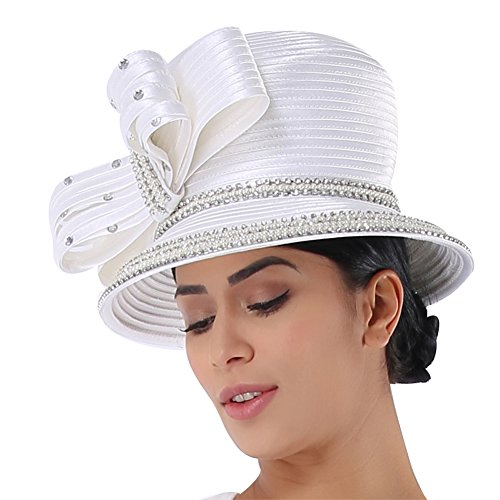 (Kueeni Women Church Suits with Hats Special Occasion Wedding Party Ladies Formal Clothes)