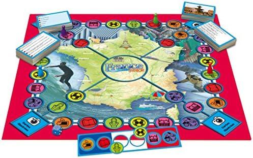 Tactic 01853 France Quiz Junior - Juego de preguntas y respuestas sobre Francia (contenido en francés) [Importado de Francia] , color/modelo surtido: Amazon.es: Juguetes y juegos