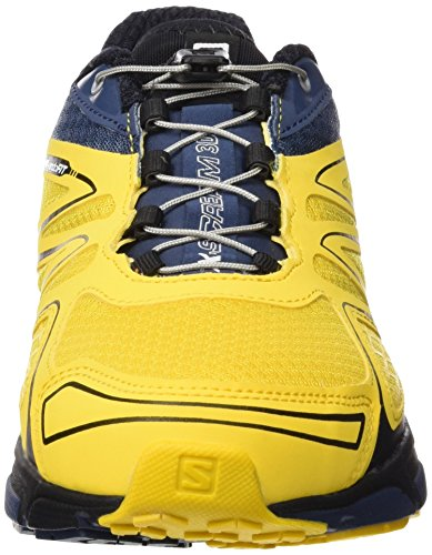 Salomon X-scream 3d Herren Traillaufschuhe Amarillo (bee-x / Slateblue / Solar Orange)