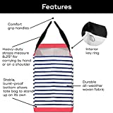 SCOUT Original Deano Tote, Large Foldable Open-Top