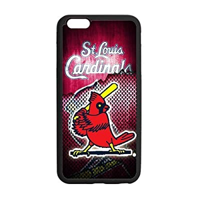Zyhome iPhone6 Plus Funny Logo St Louis Cardinals Birds Playing Baseball Case Cover for iPhone6 Plus 5.5 (Laser Technology)