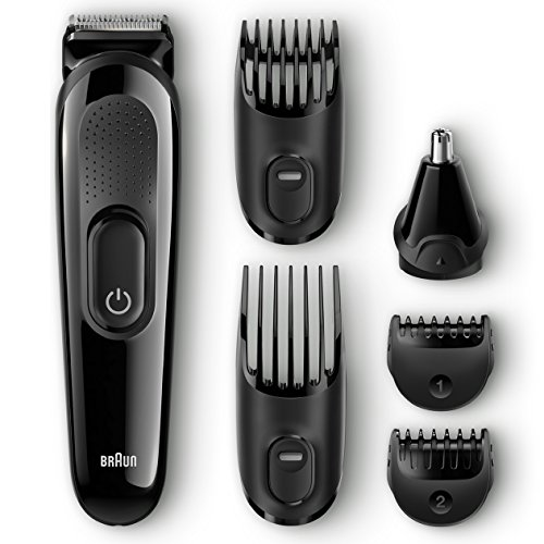 Braun MGK3020 Men's Beard Trimmer for Hair / Head Trimming, Grooming Kit...