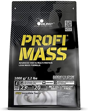 Olimp Sport Nutrition Profi Mass Zip Bag Ganador de Masa ...