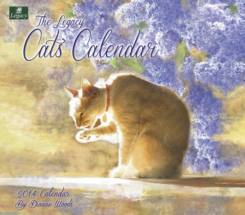 Legacy 2014 Wall Calendar, Cats by Dianne Woods