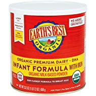 Earth's Best Organic Infant Formula with Iron, 23.2...