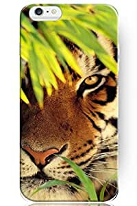 SPRAWL New Creative Design Hiding Tiger Snap On Hard Cover Shell Animal Print Iphone 6 Case ?4.7 Inch?
