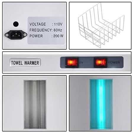 Amazon.com: 5L UV Heated Towel Warmer Cabinet Spa Sterilizer: Health & Personal Care