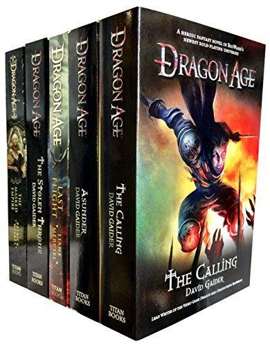 David Gaider Dragon Age Series 5 Books Collection Set (Stolen Throne, Calling, Asunder, Last Flight, Masked Empire)
