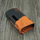 Protective Silicone Case for Sigelei Fuchai 213w TC Skin Cover Sleeve Wrap for Sigelei Fuchai 213 Watt Mod Box Orange Black