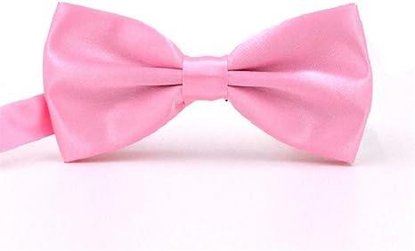 Necktie Bow Pajarita de Color Burdeos para Hombre, Camisa y ...