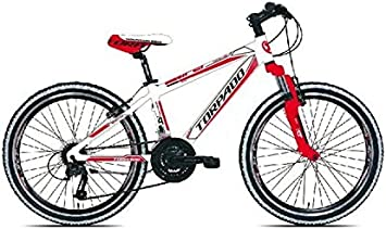 torpado bicicleta MTB Junior Viper 24 3 x 6 V blanco rojo (infantil)): Amazon.es: Deportes y aire libre