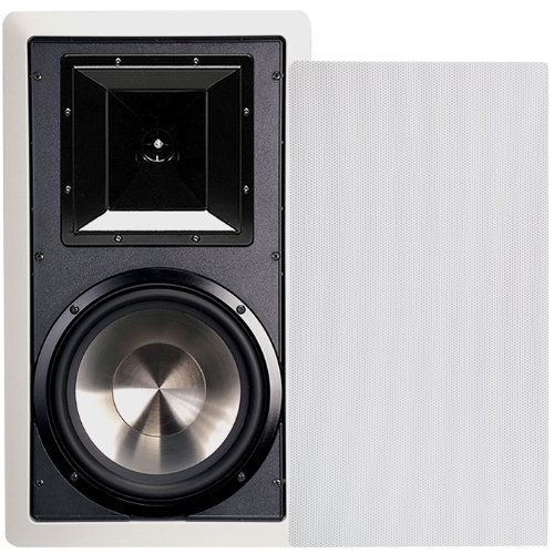 BIC America FH8-W 8-Inch 175-Watt In-Wall 2-Way Speakers with Mid/High Frequency Horns