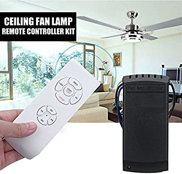 oobest Kit de mando a distancia universal de lámpara de ventilador ...