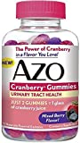 AZO Urinary Tract Health Cranberry Gummies, Mixed Berry 72 ea (Pack of 2) For Sale
