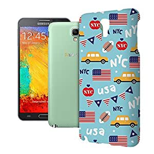 Phone Case For Samsung Galaxy Note 3 Neo LTE - The Big Apple New York USA Back Cover