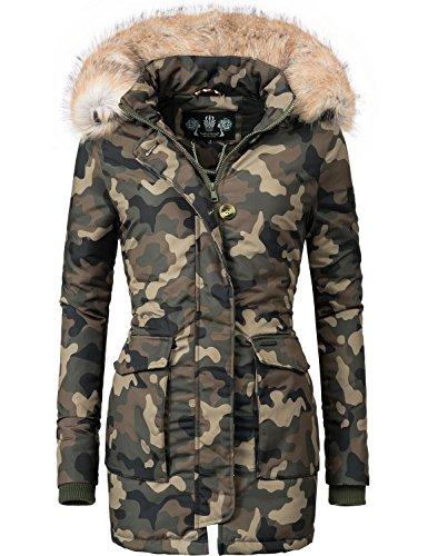 Parka Colores Camuflaje Schneeengel Invierno de para Abrigo XS Navahoo 11 XXL Mujer qRwZABq