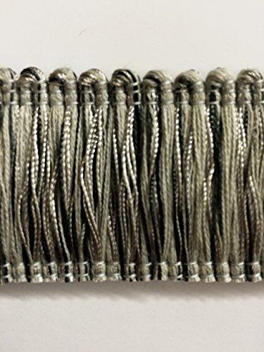 Brush Black Fringe (1.75