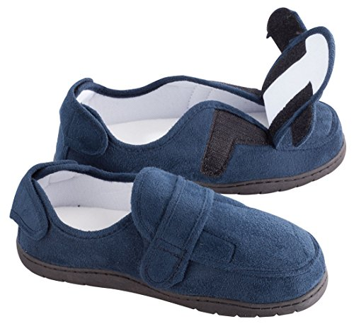 Plush Adjustable Memory Foam Slippers