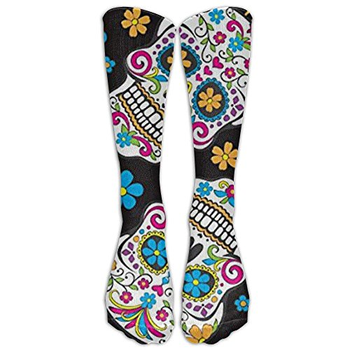 Pirates Caribbean Stretchy Novelty High Athletic Sock Outdoor Gift 50cm(19.6 inch) ()