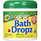 Crayola Color Bath Dropz Ounce (60 Tablets) 3.59