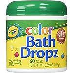 Crayola Color Bath Dropz Ounce (60 Tablets) 3.59