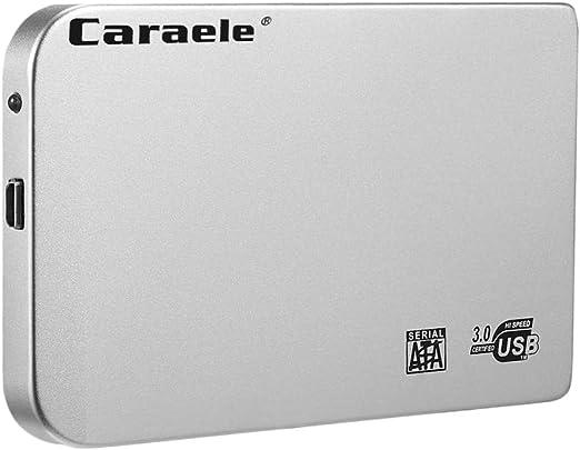 gazechimp 外付 モバイルハードディスク 2.5インチ USB3.0 SATA HDD ポータブル 高速 収納ケース付き - 2T