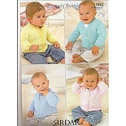 Sirdar Snuggly Bubbly Knitting Pattern 1612 NB-6yrs