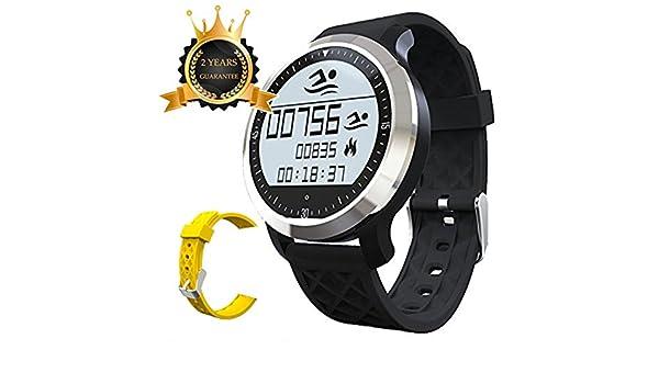 Reloj Inteligente F69 Resistencia al Agua IP68 natación ...