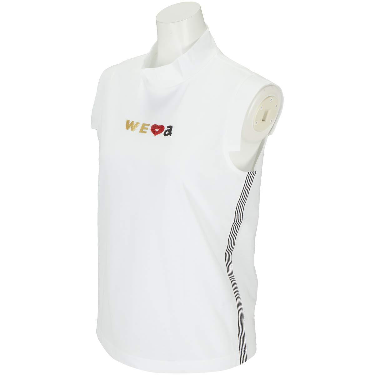 アルチビオ archivio 半袖シャツポロシャツ ノースリーブシャツ レディス 38 ホワイト B07QWJXX6D