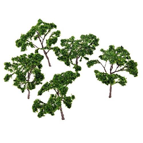 5本セット モデルツリー ジオラマ 模型 プラスチック 樹木 モデルツリー 木 森 材料 キット 鉄道 建物 ジオラマ 箱庭 風景 情景コレクションザ 教育 写真 10cm