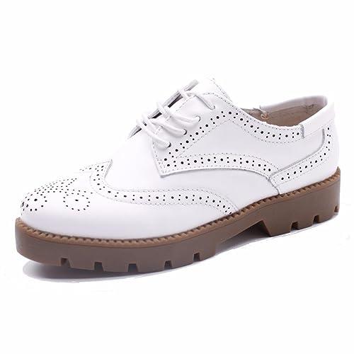 Moonwalker Zapatillas para Hombre en Cuero (EUR 39 ,Blanco)