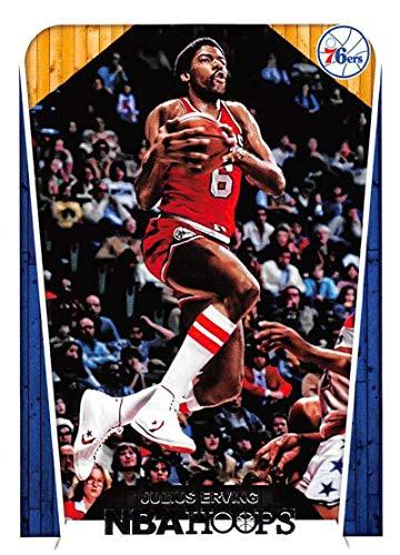 1e03394c0 2018-19 Panini Hoops #287 Julius Erving Philadelphia 76ers Basketball Card